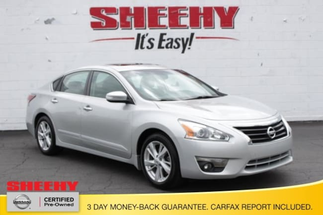 Certified Pre-Owned 2015 Nissan Altima 2.5 SV Sedan for sale near Gainesville, VA