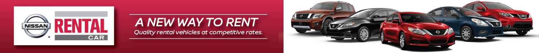 Nissan Rental Cars | Sheehy Nissan of Manassas | Virginia