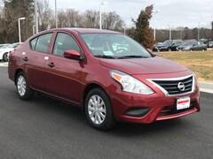New Nissan 2018 Nissan Versa 1.6 S Plus Sedan X853106 for sale in Mechanicsville, VA