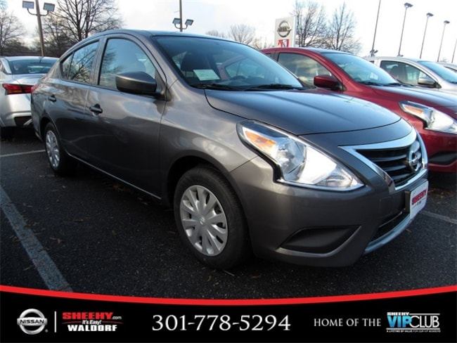 New 2019 Nissan Versa 1.6 S+ Sedan for sale in Waldorf, MD
