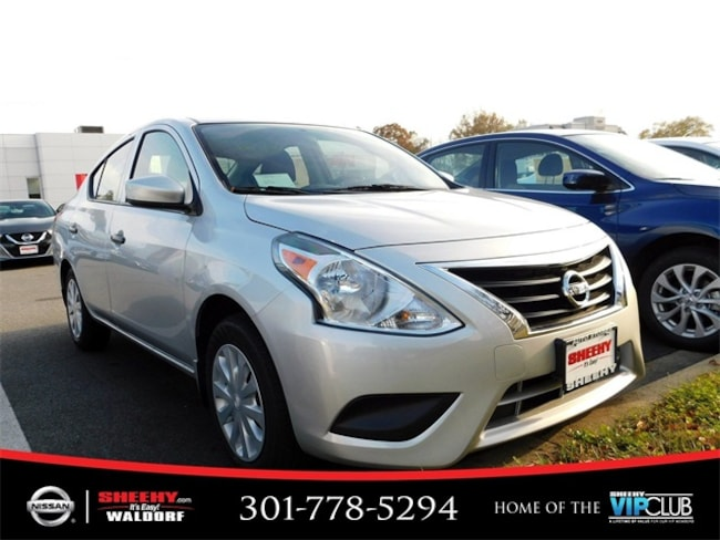 New 2019 Nissan Versa 1.6 S Sedan for sale in Waldorf, MD