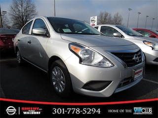 New 2019 Nissan Versa 1.6 S Sedan K817212 in Waldorf, MD