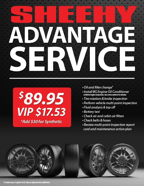 Center The Sheehy Advantage Service Package Sheehy Nissan Of Waldorf