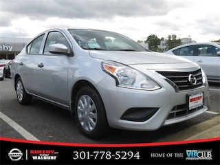 New 2019 Nissan Versa 1.6 S Sedan K806276 in Waldorf, MD