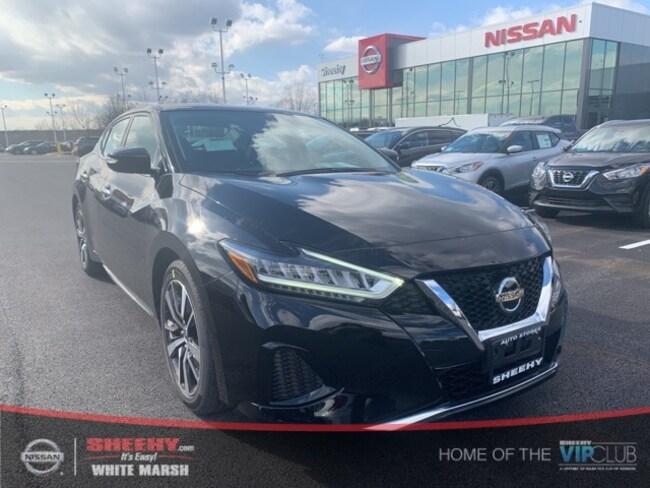 New 2019 Nissan Maxima 3.5 SV Sedan in Glen Burnie, MD