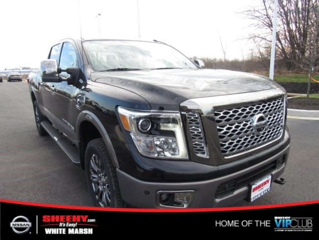 New 2018 Nissan Titan XD Platinum Reserve Diesel Truck Crew Cab for sale in Waldorf, MD