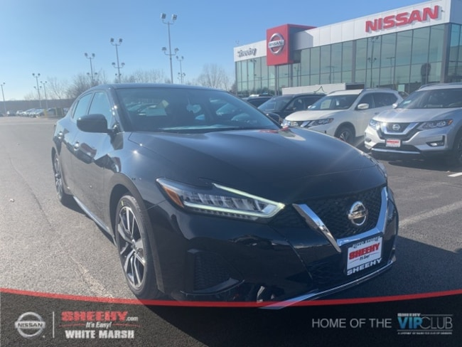 New 2019 Nissan Maxima 3.5 S Sedan in Glen Burnie, MD