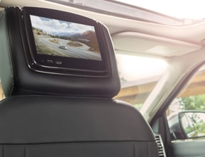 Dual-Headrest Rear Seat Entertainment System