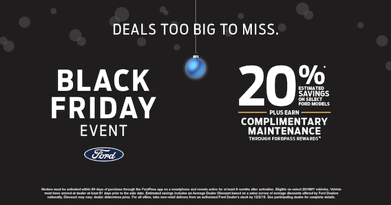 Ford Black Friday Sales Event in Richmond VA | Sheehy Ford