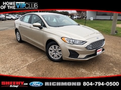 New Ford cars, trucks, and SUVs 2019 Ford Fusion S Sedan N128684 for sale near you in Richmond, VA