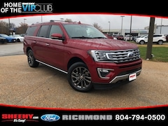 New Ford cars, trucks, and SUVs 2019 Ford Expedition Max Limited SUV NA05430 for sale near you in Richmond, VA