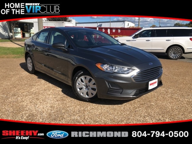 New Ford vehicles 2019 Ford Fusion S Sedan for sale near you in Warrenton, VA