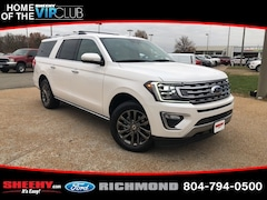 New Ford cars, trucks, and SUVs 2019 Ford Expedition Max Limited SUV NA03634 for sale near you in Richmond, VA