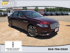New 2019 Lincoln Continental Reserve Car for sale in Springfield, VA