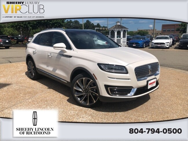 2020 Lincoln Nautilus Review, Price, Colors >> New 2019 Lincoln Nautilus For Sale At Sheehy Lincoln Of Richmond