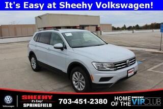 New Volkswagen 2019 Volkswagen Tiguan 2.0T SE 4motion SUV for sale near you in Springfield, VA