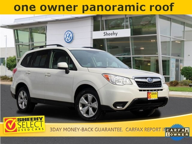 Featured Used 2016 Subaru Forester 2.5i Premium SUV for sale near you in Waldorf, MD