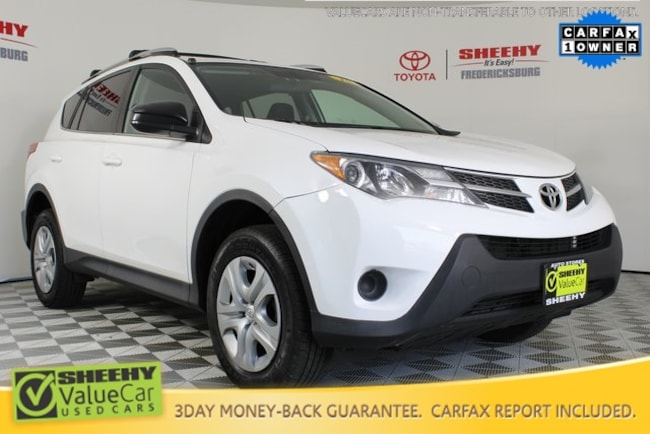 Used vehicle 2015 Toyota RAV4 SUV for sale in Fredericksburg, VA