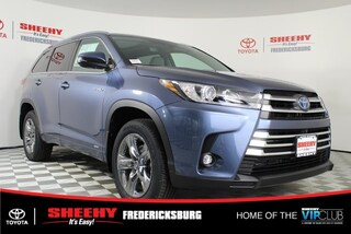 New 2019 Toyota Highlander Hybrid Limited Platinum V6 SUV for sale in Fredericksburg, VA