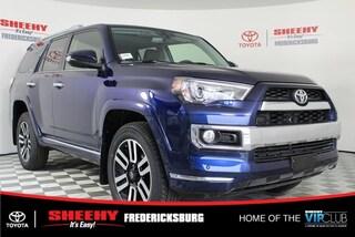 New 2019 Toyota 4Runner Limited SUV for sale in Fredericksburg, VA