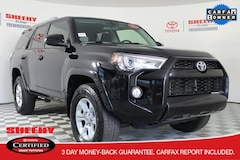 Certified pre-owned vehicle 2017 Toyota 4Runner SUV for sale in Fredericksburg, VA