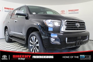New 2019 Toyota Sequoia Limited SUV for sale in Fredericksburg, VA