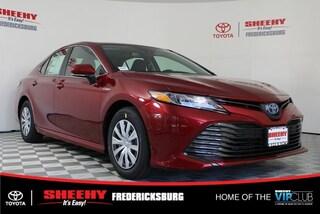New 2019 Toyota Camry Hybrid LE Sedan for sale in Fredericksburg, VA