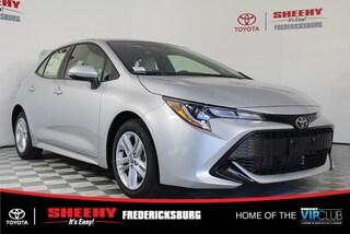 New 2019 Toyota Corolla Hatchback SE Hatchback for sale in Fredericksburg, VA