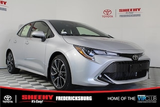 New 2019 Toyota Corolla Hatchback XSE Hatchback for sale in Fredericksburg, VA