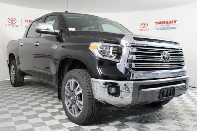 New Toyota 2019 Toyota Tundra 1794 5.7L V8 Truck CrewMax for sale in Fredericksburg, VA