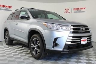 New Toyota  2019 Toyota Highlander LE V6 SUV for sale in Fredericksburg, VA