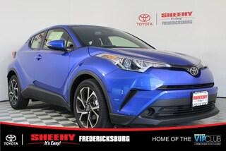 New 2019 Toyota C-HR XLE SUV for sale in Fredericksburg, VA