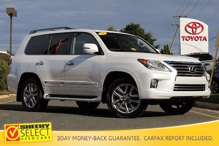 Featured Pre-Owned 2014 LEXUS LX 570 Luxury Package 4WD Navigation & Rear Seat Ente SUV for sale near you in Springfield, VA