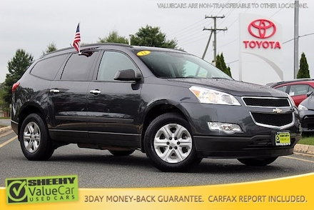 Featured Pre-Owned 2012 Chevrolet Traverse LS AWD Seven Passenger Power Seat Package SUV for sale near you in Springfield, VA