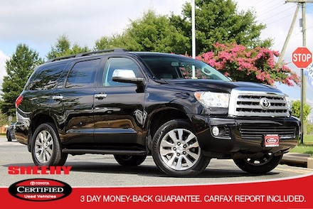 2013 Toyota Sequoia Limited V8 4WD Navigation & Heated Leather Seating SUV