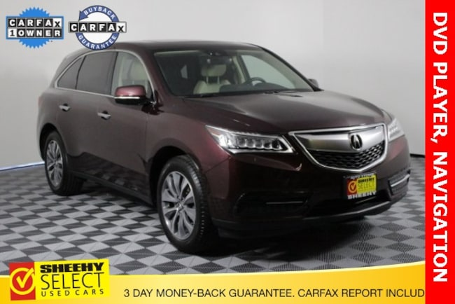 Used vehicle 2016 Acura MDX MDX SH-AWD with SUV for sale near you in Waldorf, MD
