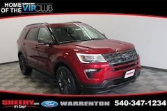 New 2019 Ford Explorer XLT SUV YA37811 for sale near you in Warrenton, VA