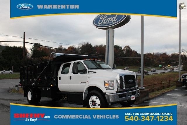 Featured New 2019 Ford F-650 Diesel XL Crew Cab 16 ft. PJs Landscape body for sale near you in Warrenton, VA