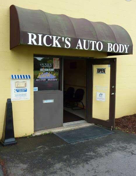 Auto Body Shop Sheehy Ford Of Warrenton Virginia
