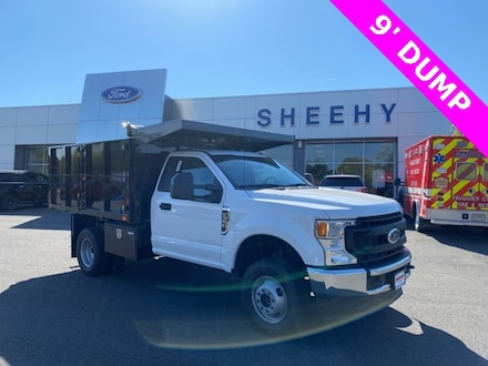 Featured New 2021 Ford F-350 Chassis XL 9 DUMP for sale near you in Warrenton, VA