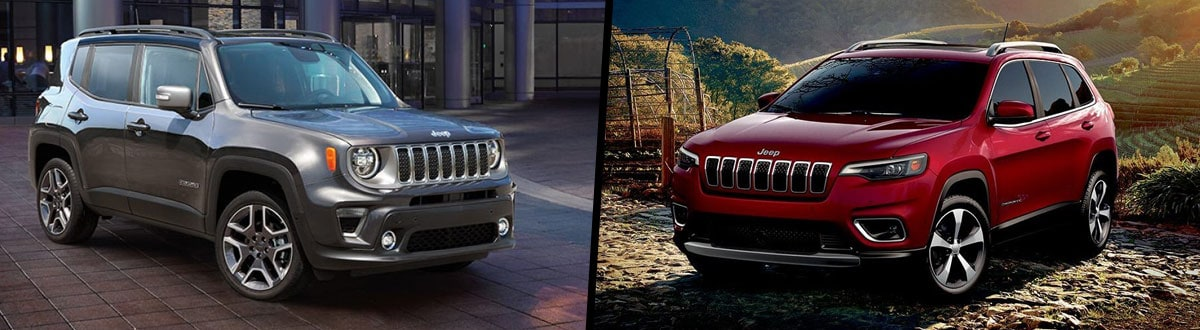2019 Jeep Renegade vs 2019 Jeep Cherokee