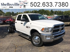 New 2018 Ram 3500 TRADESMAN CREW CAB CHASSIS 4X4 172.4 WB Crew Cab in Shelbyville, KY