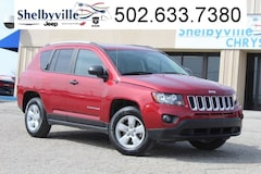 Certified Pre-Owned 2017 Jeep Compass Sport SUV in Shelbyville, KY