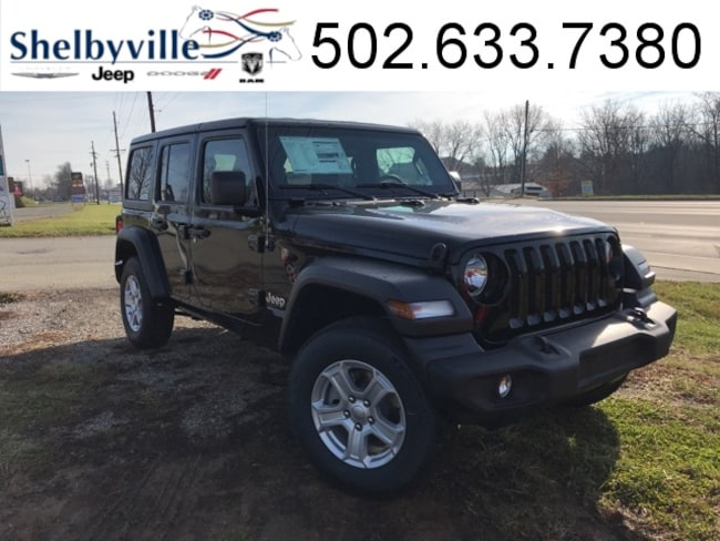 2019 Jeep Wrangler UNLIMITED SPORT S 4X4 Sport Utility for sale near Louisville, KY at Shelbyville Chrysler Products