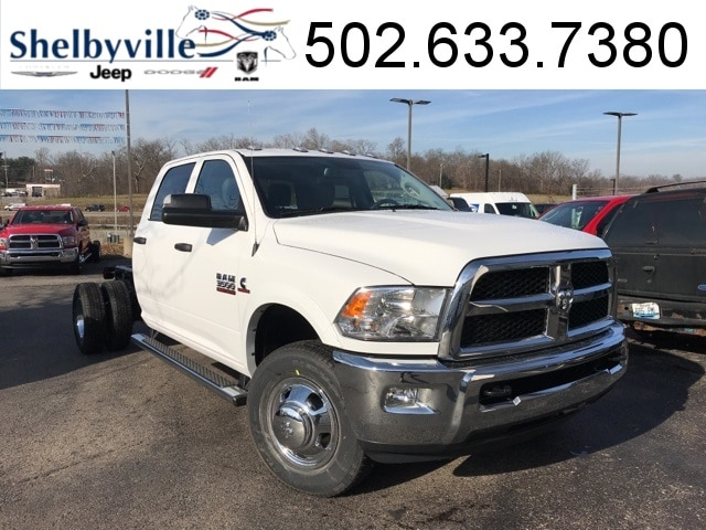 2018 Ram 3500 Chassis Cab 3500 TRADESMAN CREW CAB CHASSIS 4X4 172.4 WB Crew Cab