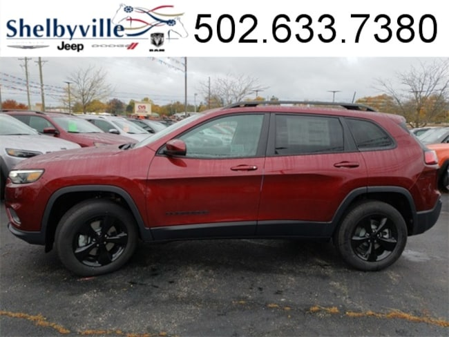 2019 Jeep Cherokee ALTITUDE 4X4 Sport Utility for sale near Louisville, KY at Shelbyville Chrysler Products