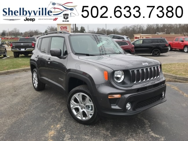 2019 Jeep Renegade LATITUDE 4X4 Sport Utility for sale near Louisville, KY at Shelbyville Chrysler Products