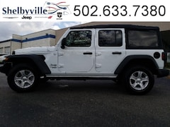 New 2018 Jeep Wrangler UNLIMITED SPORT S 4X4 Sport Utility in Shelbyville, KY