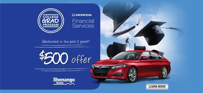 Honda Finance Specials >> Honda Financing Specials Shenango Honda In Hermitage Pa
