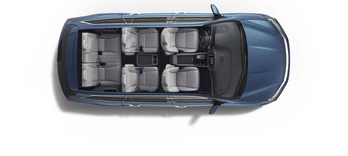 2019 Honda Pilot interior space aerial